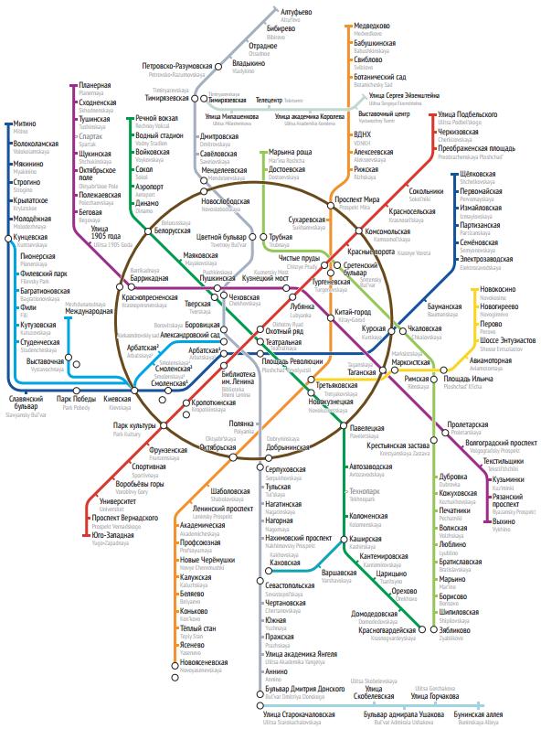 схема метро для печати